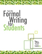 Formal writing cover